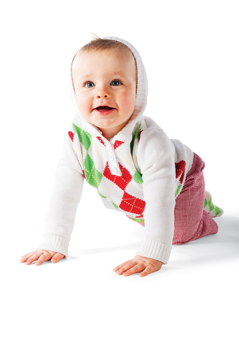 Baby Gift Designer : Christmas baby golf sweater