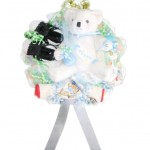 Baby Boy Golf Diaper Wreath