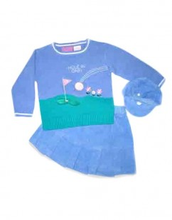 Baby Girl Golf Toddler Sweater