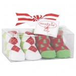 Christmas Baby Golf Socks