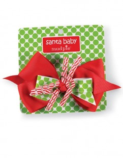 Santa Baby Girl's Hair Bow