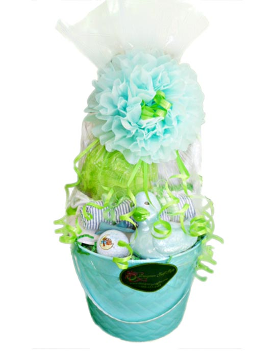 Baby Boy Golf Basket