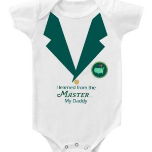 Masters onesie @Etsy Simply baby shop