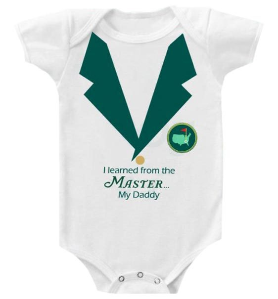 Baby Boy Little Masters Golf Outfit