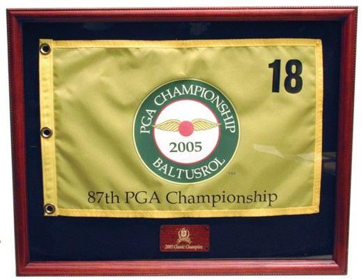 Golf Flag Display Frame