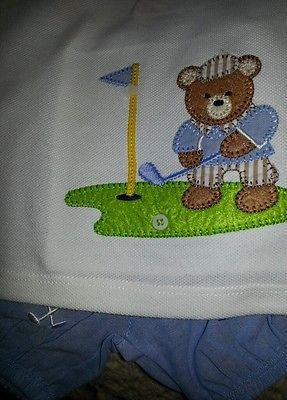 mudpie golf ing bear modeled
